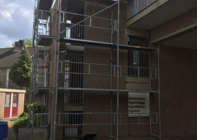 Renovatiesteiger trappentorens